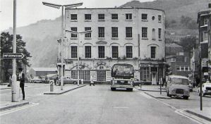 Townwall Street looking (eastwards) towards Hotel de France 1971. Hollingsbee Collection Dover Museum
