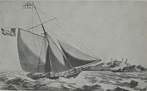Trinity House  Pilot cutter c1830. Alan Sencicle collection