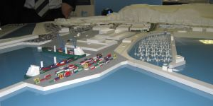 Western Docks - model of proposal 2014