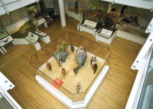 Claudius Model ground floor gallery. Dover Museum