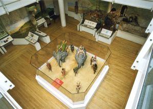 Claudius Model ground floor gallery. Dover Museum
