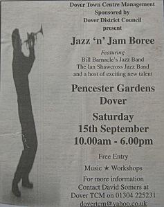 Jazz 'n' Jam Boree Pencester Gardens 15 September 2007
