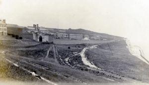 Langdon Prison 1905. Dover Museum