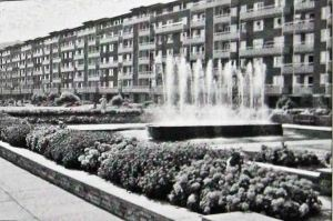 Gateway flats and Gardensin the 1960s