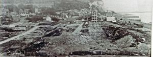 Dover seafront after the demolition of property and the ground prepared for what became the Gateway Flats. Courtesy of David G Atwood.