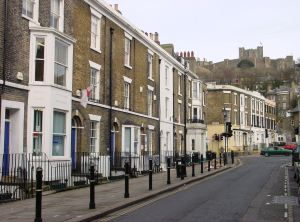 Castle Street north side. Alan Sencicle 2009