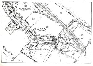 Map of Crabble 1874
