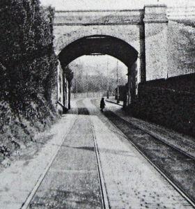 Crabble Road Railway Bridge, River demolished c 1936