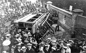 Crabble Road Tram Accident - Crabble 19 August 1917. Dover Museum