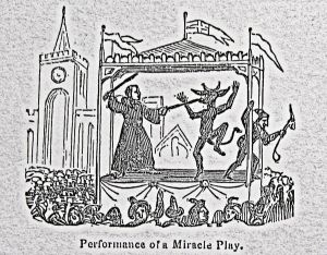 Fairs - Miracle Play. Ridgen 1844