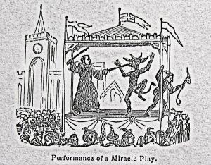 Fairs - Miracle Play. Ridgen 1844