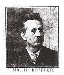 Henry Boteler killed in the Crabble Road Tram Accident. Dover Express 24.08.1917