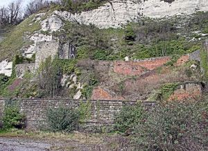 Mote Bulwark, below the Castle facing Dover Seafront, today