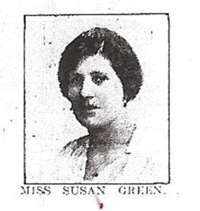 Susan Green killed in the Crabble Road Tram Accident. Dover Express 24.08.1917