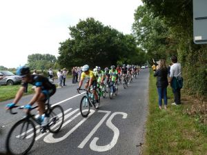 Tour of Britain cycle race. LS 12 September 2014