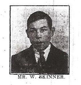 Walter Skinner age 17 killed in the Crabble Road Tram Accident. Dover Express 24.08.1917