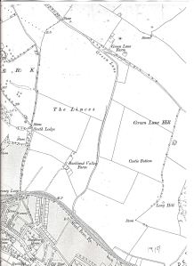 Buckland Manor Farm and Green Lane Farm. 1919