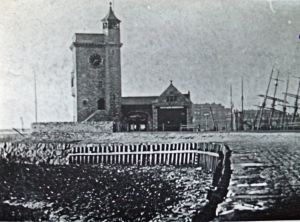 Clock Tower and Lifeboat Station 1880s. Dover Library