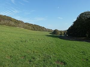 Farthingloe Valley former Dover College Playing Fields. AS 2014