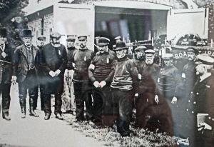 Life boat crew circa 1898. Dover RNLI.