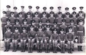 Junior Leaders C Squadron intake Spring 1971. Alan Pearce
