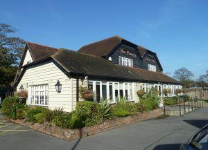 Modern day Plough Inn, Folkestone Road, Farthingloe. AS 2014