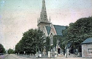 St James (New) Church 1939 - Maison Dieu Road. Budge Adams Collection Dover Museum