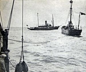 Alert and the South Goodwin lightship - Alan Sencicle collection