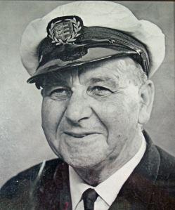 Alfred 'Darky' Cadman Dover Coxswain 1960-1967. Dover- RNLI