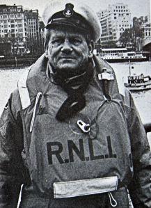 Coxswain/Mechanic Arthur Lidden. RNLI-Dover