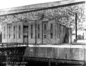 Eastern Dockyard Cable Depot 15 February 1922. Dover Museum