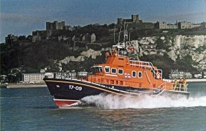 City of London II Lifeboat in Dover harbour. LS 2010