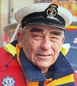 Tony Hawkins MBE Coxswain 1978-1999. RNLI-Dover
