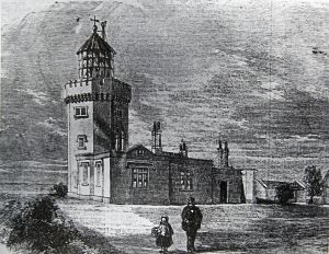 One of the original South Foreland Light Houses built in 1793. LS Collection
