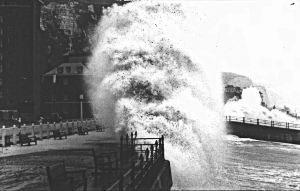 Stormy Weather - Dover Seafront c1970s - Dover Museum