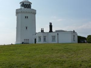 South Foreland Lighthouse from where, on Christmas Eve 1898, Marconi made the world's first shore to ship radio transmission. LS 2013