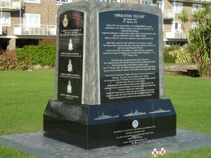 Channel Dash Memorial, Marine Parade. AS 2012
