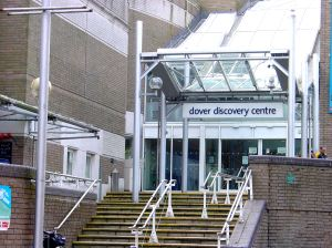 Dover Discovery Centre  Market Square within which is the Dover Public Library. Alan Sencicle