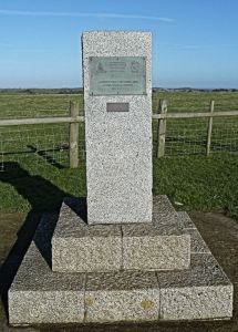 Memorial to the Royal Regiment of Artillery & AAA Gun Battalion of the US Army. AS 2015