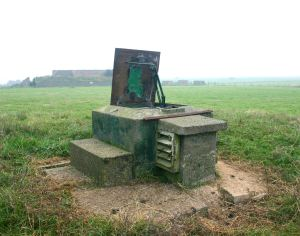 Royal Observer Corps 1960s Nuclear Blast observer post - Dover ROC post at Swingate (2). Nick Catford