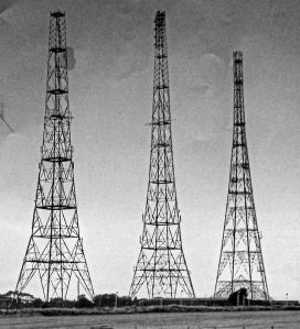 Swingate Towers c2000. The fourth tower was dismantled in 1955. Phil Johnson