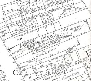 Dover Institute, Biggin Street Insurance map 1905