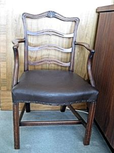 Duke of Wellington's Chair, Harbour House Waterloo Crescent. LS 2010