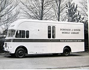 Mobile library van introduced in 1968. Dover Library