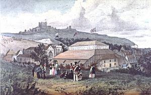 Wellington Pavilion external view by William Burgess 1839