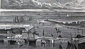 Admiralty Pier circa 1870s