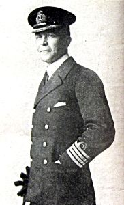 Captain Henry Percy Douglas naval officer specialised in surveying. Worked with Vice Admiral Roger Keyes in preparation for the Zeebrugge Raid. Chairman of DHB 1934-39