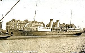 Victoria one of the cross-Channel ships commandeered for War service that following a refit was returned to Dover in January 1919. Dover Museum