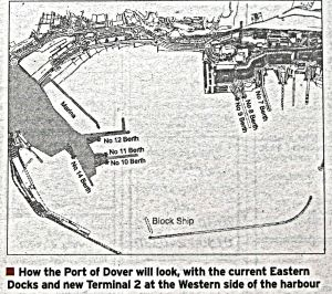 Western Docks refurbishment proposal. Dover Mercury 01.02.2007