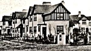 Elvington village miners cottages. Steve Harding